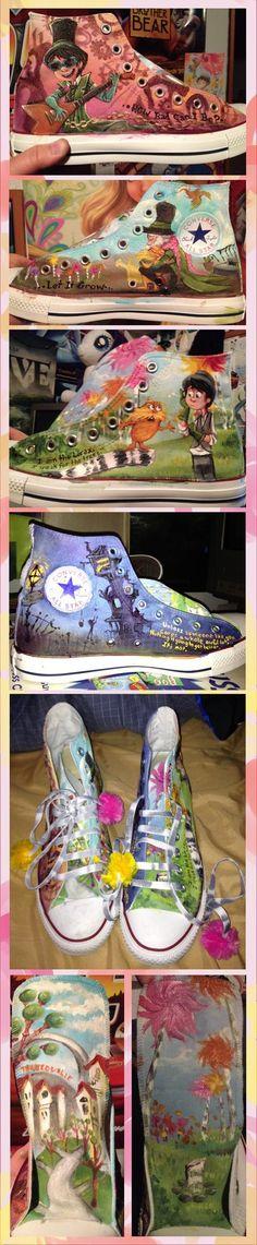 Lorax Converse by sharkie19 on deviantART