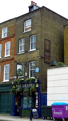 Historic London Pub once Frequented by Dickens now owned by Sir Ian McKellen London Pubs, East London, Sir Ian Mckellen, Walter Raleigh, Georgian Terrace, Isle Of Dogs, Pub Signs, River Thames, World Trade