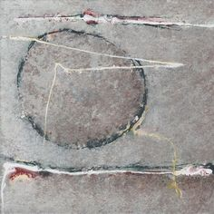 Claude Abad, Lerrance du cercle, 20x20cm, acrylic on canvas.