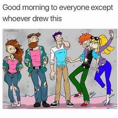 Rugrats, Good Morning, Family Guy, Draw, Guys, Fictional Characters, Good Day, Bonjour, Bom Dia