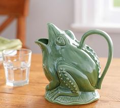Frog Pitcher | Pottery Barn