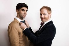 Actor Jesse Tyler Ferguson and Justin Mikita launch neckwear line called Tie the Knot http://www.latimes.com/features/image/la-ig-tie-the-knot-20121118,0,2087976.story