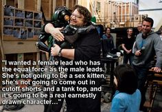 "Guillermo del Toro, director of Pacific Rim , writer and director of Pan's Labyrinth . | 11 Filmmakers Who Expertly Answered The Question ""Why Do You Write Strong Female Characters?"""