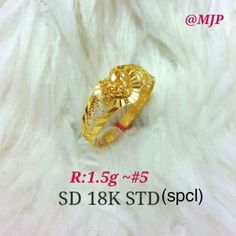 Shopee Gold Heart Ring, Gold Rings, Cod, Best Sellers, Cod Fish, Atlantic Cod