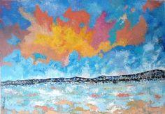 "Saatchi Art Artist Tanya Dimitrova; Painting, ""Seashore"" #art"