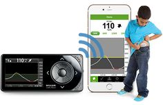 Dexcom blood glucose monitoring, built in share technology