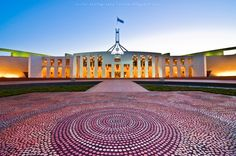 Australian Parliament Australian Capital Territory, Culture, Mansions, House Styles, Home, Manor Houses, Villas, Ad Home, Mansion