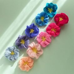 Crochet Pattern Flower Amelie - Easy beginner PDF - PHOTO TUTORIAL crochet instructions - Flower crochet  pattern via Etsy