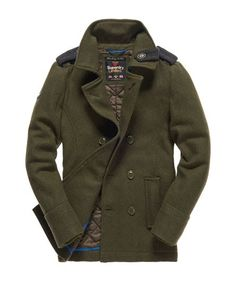 Superdry Bridge Peacoat