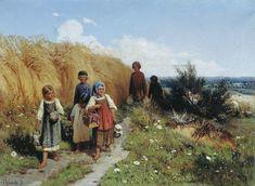 The Glory of Russian Painting: Alexei Kivshenko