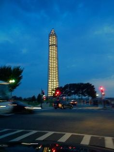 Illuminating the Washington Monument Under Earthquake Repair