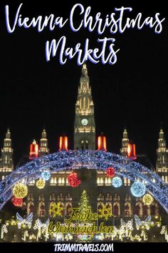 I highly recommend the Vienna Christmas markets if you're looking for a fantastic European holiday experience. It's especially great for first-timers! Vienna Christmas, Christmas Markets Europe, Christmas Travel, Holiday Travel, Merry Christmas, European Travel Tips, Europe Travel Guide, European Destination, Travel Destinations