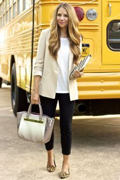 """10 Style Staples Every Woman Should Have In Their Wardrobe"""" Dressy Blazer. For more ideas, click the picture or visit www.sofeminine.co.uk"""