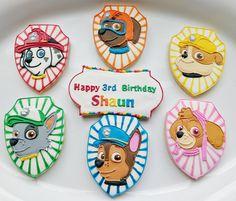 Paw Patrol cookies - A Fancy Cookie