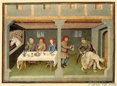 15. Jahrhundert - Boccaccio, Decamerone / frz.Buchmal.