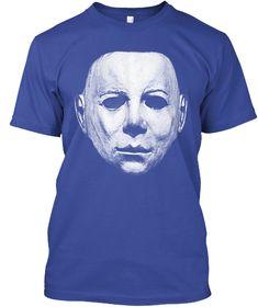 Perfect Halloween Shirt, Horror Costume Deep Royal T-Shirt Front Horror Shirts, Michaels Halloween, Halloween Sweatshirt, Michael Myers, T Shirt Costumes, Deep, Hoodies, Funny, Mens Tops