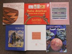 E. Adkins Collection Robes Baskets Pottery Weaving Native American Art Book Lot