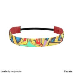 Graffiti Athletic Headbands