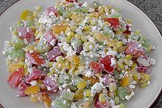 Hüttenkäse - Salat 7