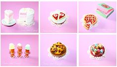 Food Miniatures Kawaii Dollhouse di CreazioniKawaiiShop su Etsy