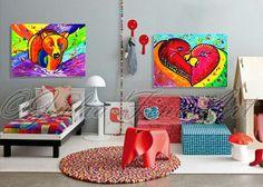 #BearPainting #NurseryArt #KidsRoomDecor #AnimalPrint #KidsWallArt #PopArtPrint #PrintableArt #DigitalDownload #ChildrenArt #Poster by #JuliaApostolova Bear Paintings, Nursery Paintings, Nursery Art, Kids Room Art, Art Wall Kids, Art For Kids, Wall Art, 1 Image, Image Title