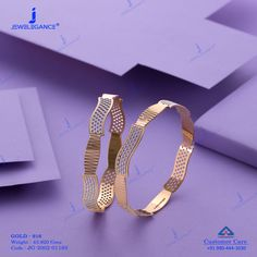 Plain Gold Bangles gms) - Fancy Jewellery for Women by Jewelegance Gold Ring Designs, Gold Bangles Design, Gold Jewellery Design, Plain Gold Bangles, Gold Bangles For Women, Fancy Jewellery, Gold Rings Jewelry, Crystal Jewelry, Jewelry Art