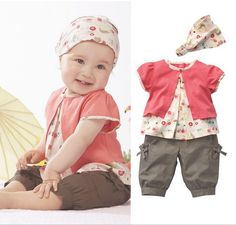 Mejores 142 Imagenes De Vestidos O Ropa Para Bebes En Pinterest - Ropa-de-moda-para-bebe-de-un-ao