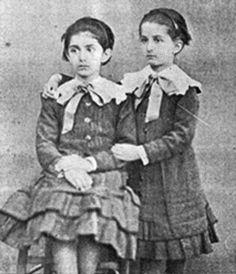 Princesses Milica and Anastasia of Montenegro.