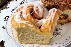 Mall-Style Cinnamon Rolls, freshly baked from your oven. So easy to do with Bridgford Frozen Ready-Dough®!