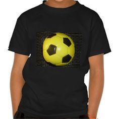 #Yellow and #black #Football. T Shirt #Amazing #Stuff, #beautiful #stuff #products #sold on #Zazzle. #Customized #Product