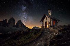 "Photo ""Night at the three peaks"" by Renè Colella #500px"