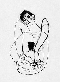 Black Ink (drawing series) on Behance   Marina Gonzalez Eme