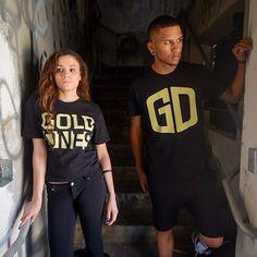 Be Bold Be Different #golddeeds #goldones #goldfromday1 #lifestyle #fashion #models @kaylaketchum @izzylopezofficial #photo @osunaphoto www.golddeeds.com