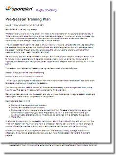soccer preseason training program pdf