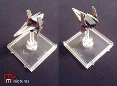 Nimbus V-Wing | Mel Miniatures #Fantasy #Flight #Star #Wars #Miniature #Custom #Painted #X #Wing #Nimbus #V #Wing #Mel #Miniatures