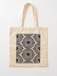 """The Vault"" Cotton Tote Bag, print design by Asmo Turunen. #design #totebag #shoppingbag #kestokassi #kangaskassi #atcreativevisuals"