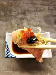 - Burning salmon sushi - by GodofCatCk