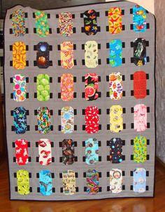 I Spy Skateboard quilt.                                                                                                                                                                                 More
