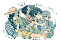 Juuzou and the squad Vacation - Tokyo Ghoul re: