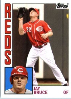 2012 Topps Archives Throwback Baseball Card Design #165 Jay Bruce - Cincinnati Reds - MLB Trading Card by Topps. $1.87. 2012 Topps Archives Throwback Baseball Card Design #165 Jay Bruce - Cincinnati Reds - MLB Trading Card