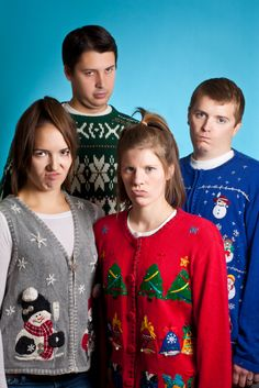 Ugly Holiday Sweater Parties