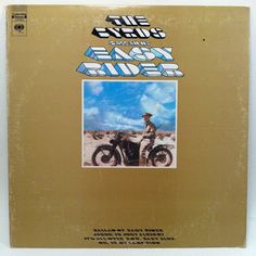 The Byrds Ballad of Easy Rider Vinyl Record LP in shrink 1969 Columbia Psych Classic Rock Breaks Samples