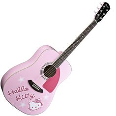 I've always wanted to play guitar & this is the one I'd want to learn on!