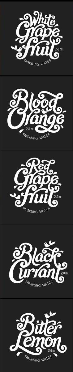 Labels for sparkling water logo graphic design inspiration
