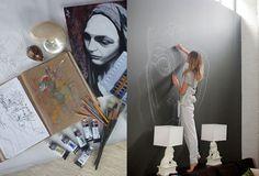 Sasha Pivovarova's art is always an inspiration..