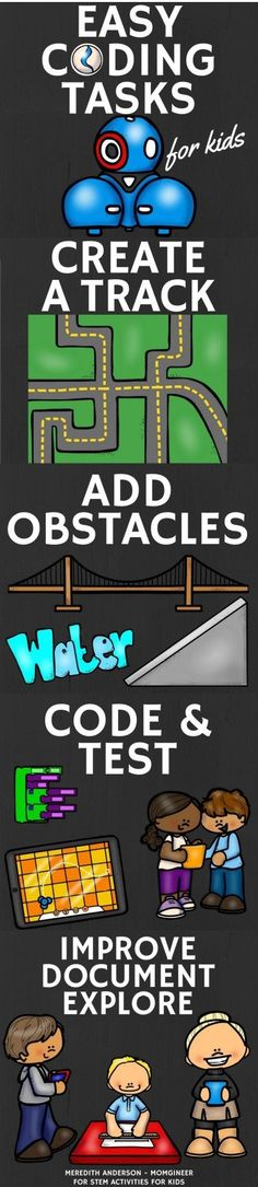 Easy Coding for Kids - Perfect for Hour of Code, STEM class, or Makerspaces - STEM Activities for Kids
