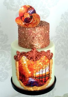 Copper Autumn - Cake by Sweet Design