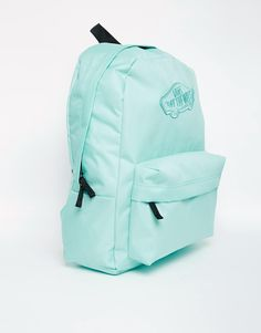 Image 2 of Vans Realm Backpack in Green