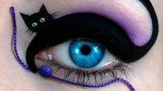Blue eye catwoman