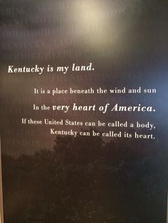 Another Kentucky quote